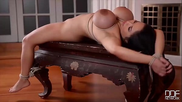 anita b and 039 s pussy and ass crammed by two masters in intense dp bdsm scene