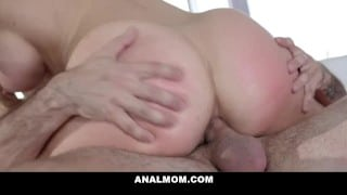 Fucked My Stepmom In The Ass After Jerking Off To Her Only Fans